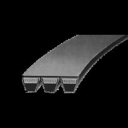 8V/25J-s profilú átlapolt ékszíj
