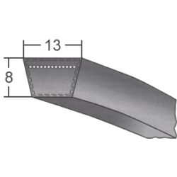 A/13-as profilú klasszikus ékszíj (Optibelt)