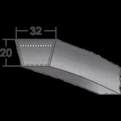 D/32-es profilú klasszikus ékszíj (Rubena)