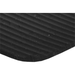 Sűrű bordázott gumilemez (1,2 méteres tekercs szélesség)