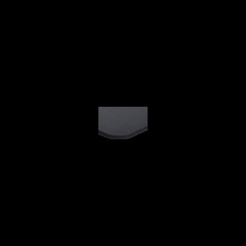 Sima, szövetbetétes SBR gumilemez (1,2 méteres tekercs szélesség)