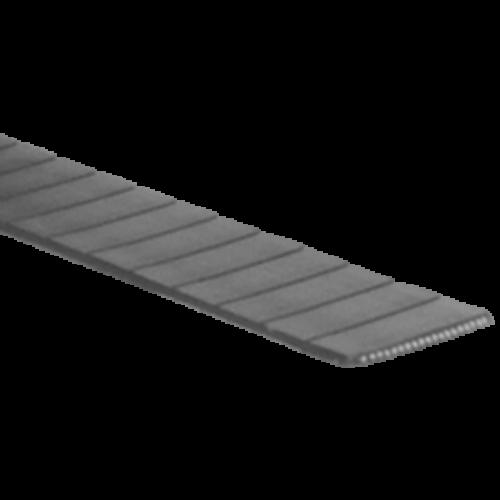 F2 profilú poliuretán folyóméteres laposszíjak