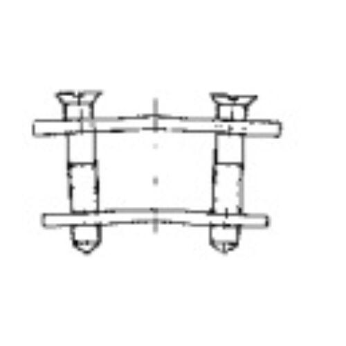 Lemezes kapocs (DK típusú kapcsokkal végteleníthető folyóméteres ékszíjak)