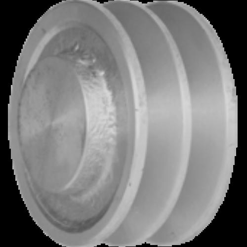 SPZ típusú alumínium ékszíjtárcsa (előfúrt)