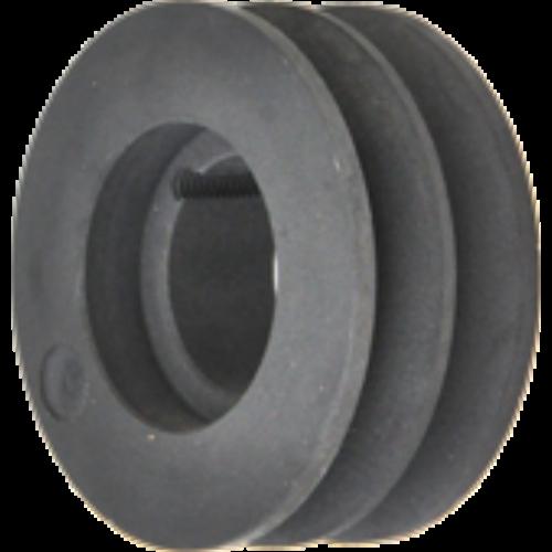 SPC profilú szorítós ékszíjtárcsa (Maximum 22 mm-es széles ékszíjhoz)