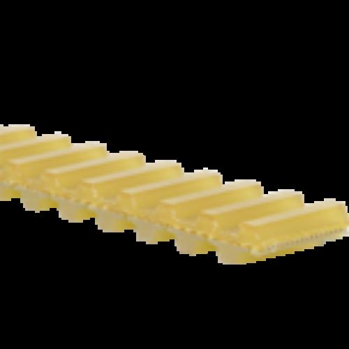 D-T5 profilú poliuretán, duplafogú fogasszíj